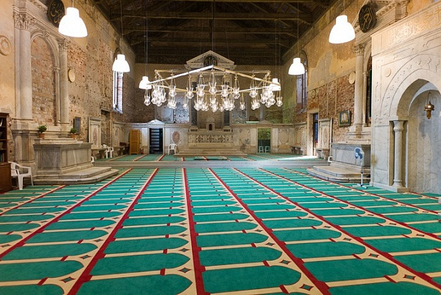 Christoph Büchel, The mosque, 2015 cosa contemporary sacred art