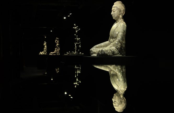 Shi Zhongying, 坐佛系列, Buddha Icon Series, 2013 ...