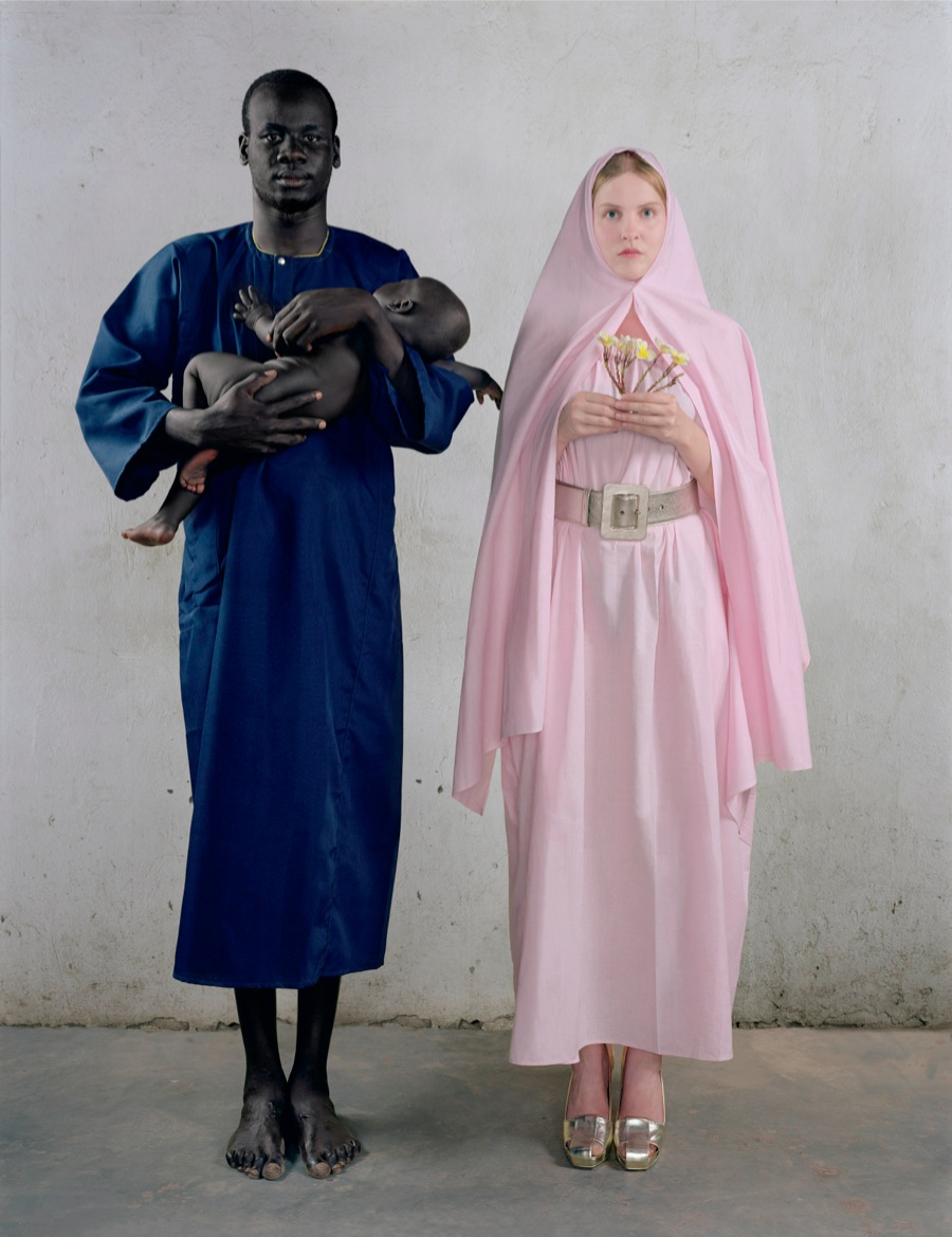 Vanessa Beecroft, VBSS - Holy Family, 2006