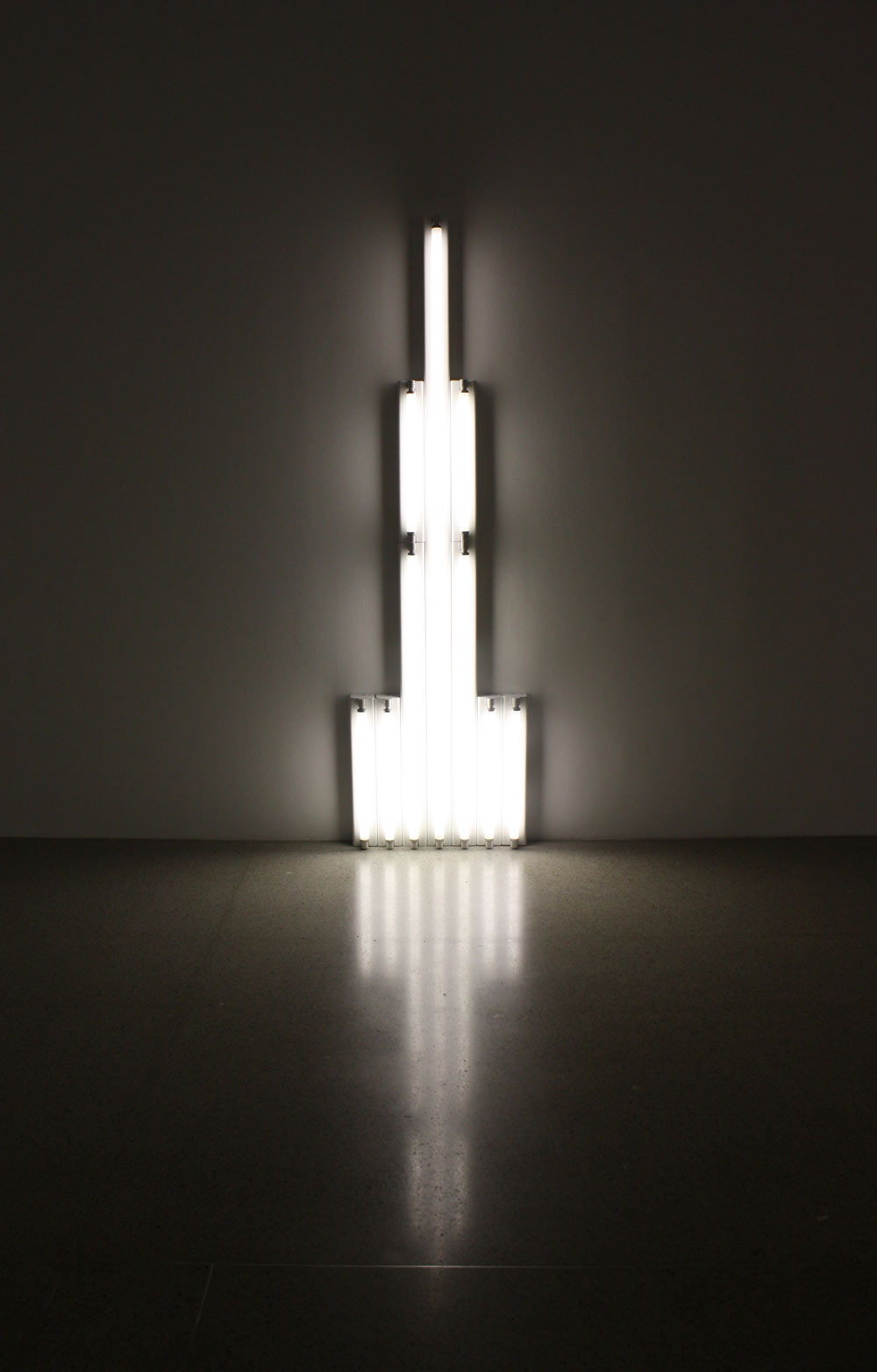 Dan Flavin, Monument for V.Tatlin, 1964