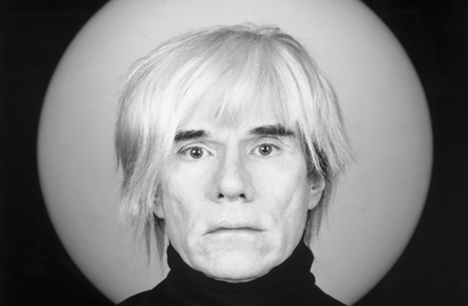 Robert Mapplethorpe, Andy Warhol, 1989